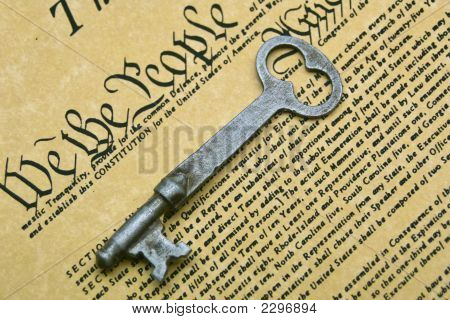 Constitution And Key