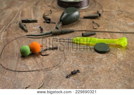 Baits, Hooks, Sinkers, Ledcor Is Preparing For Carp Fishing.