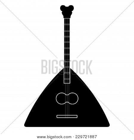 Isolated Balalaika Icon. Musical Instrument. Vector Illustration Design
