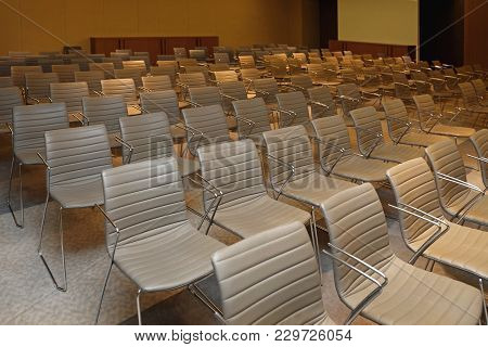 Conference Chairs Boardroom Seats Meeting Room For Audience
