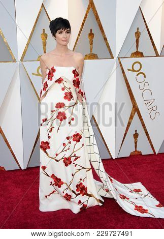 Paz Vega at the 90th Annual Academy Awards held at the Dolby Theatre in Hollywood, USA on March 4, 2018.