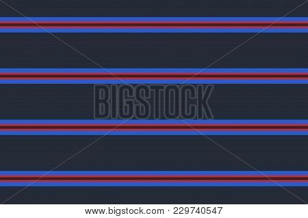 Pattern With Horizontal Stripes. Straight Lines Like A Sailor. The Background For Printing On Fabric
