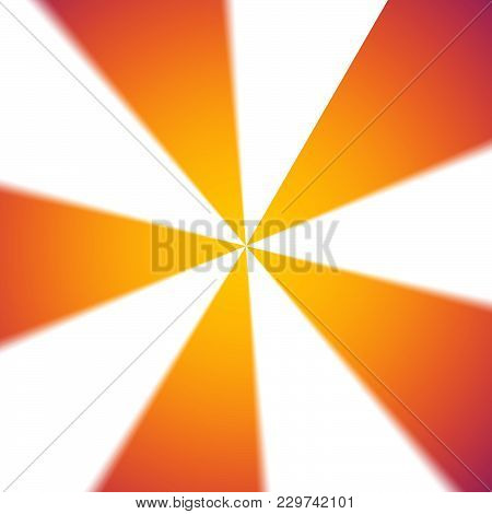 Circular Double Color Yellow And Orange Glowing Gradient Abstract Background