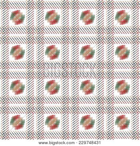 Plaid Tartan Seamless Pattern Background. Traditional Scottish Ornament. Seamless Tartan Tiles. Tren