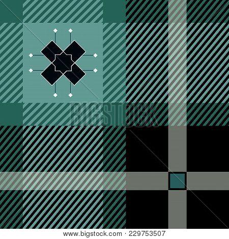 Tartan Seamless Pattern. Trendy Vector Illustration For Wallpapers. Seamless Tartan Tiles. Suits For