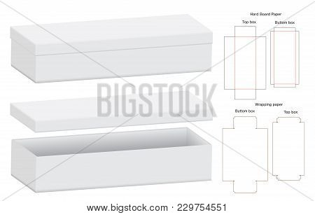 Box Packaging Die Cut Vector & Photo (Free Trial) | Bigstock