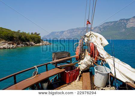 Heading Mediterranean