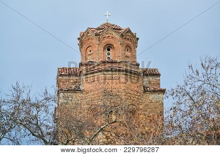 Old Orthodox Church Saint Jovan Kaneo In Ohrid