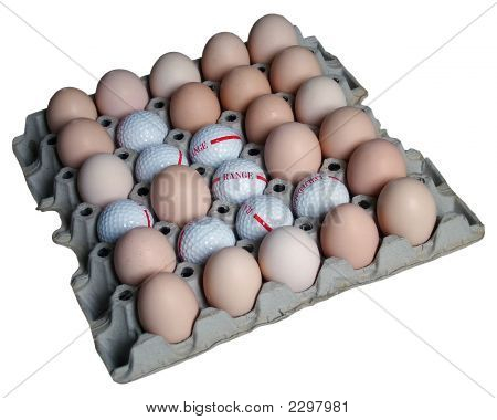 Golf Balls And Eggs In Eggs Eolder