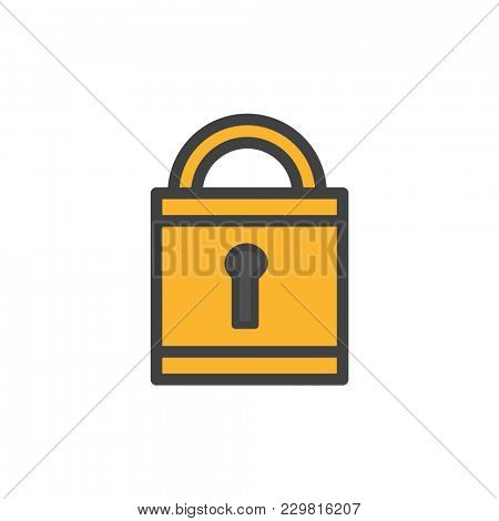 Illustration of lock icon
