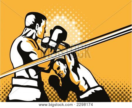 Boxing Overhead Punch