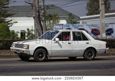 Old Private Car, Mitsubishi Galant.