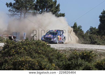 Viana Do Castelo, Portugal - May 19: Sebastien Ogier Of France And Julien Ingrassia Of France Compet