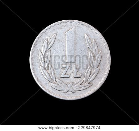 Vintage One Zloty Coin Made By Poland 1949