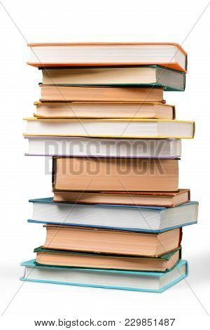 Book Stack Literature Biographies Hardcover Book Information Medium Novel