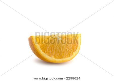 Isolated Orange Segment