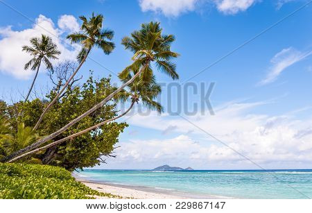 Tropical Beach On Silhouette Island, Seychelles