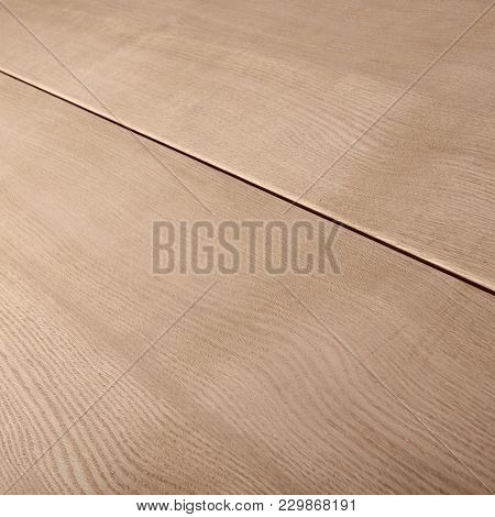 Closeup Photo Of Wooden Pine Planks For Making Doors