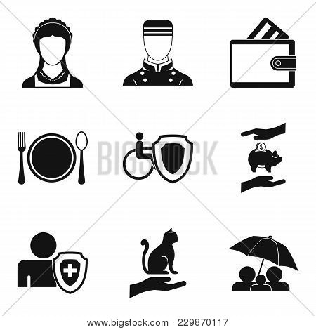 Oral Folklore Icons Set. Simple Set Of 9 Oral Folklore Vector Icons For Web Isolated On White Backgr