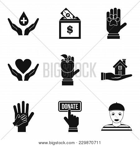 Local Employee Icons Set. Simple Set Of 9 Local Employee Vector Icons For Web Isolated On White Back