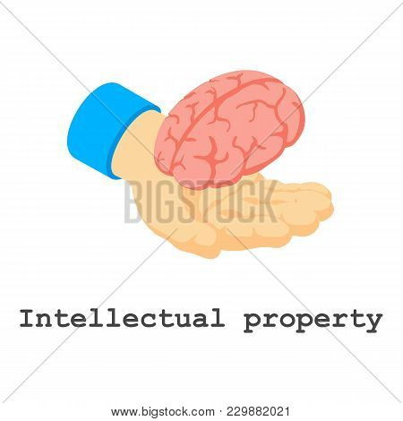 Intellectual Property Icon. Isometric Illustration Of Intellectual Property Vector Icon For Web