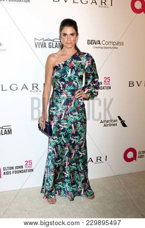 LOS ANGELES - MAR 4:  Nikki Reed at the 2018 Elton John AIDS Foundation Oscar Viewing Party at the West Hollywood Park on March 4, 2018 in West Hollywood, CA