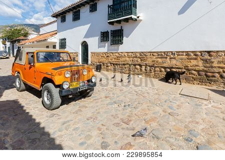 Villa De Leyva February 2018 This Type Of Jeep Supplied To The American Army Has Been Converted By T