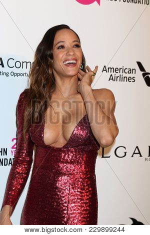 LOS ANGELES - MAR 4:  Dania Ramirez at the 2018 Elton John AIDS Foundation Oscar Viewing Party at the West Hollywood Park on March 4, 2018 in West Hollywood, CA