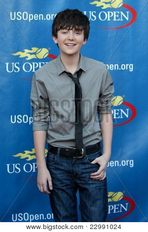 FLUSHING, NY - AUGUST 29: Greyson Chance attends the Opening Night Ceremonies for the 2011 US Open at the USTA Billie Jean King National Tennis Center on August 29, 2011 in Flushing, New York.