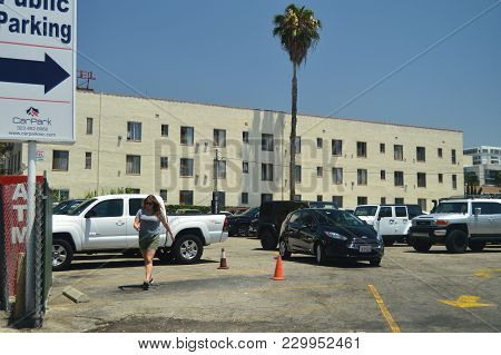 Las Palmas Hotel Here I Filmed Pretty Woman Very Close To The Walk Of Fame In Hollywood Boluvedard.