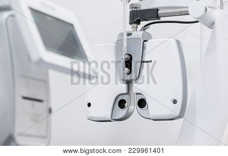 Equipment In The Eye Clinic