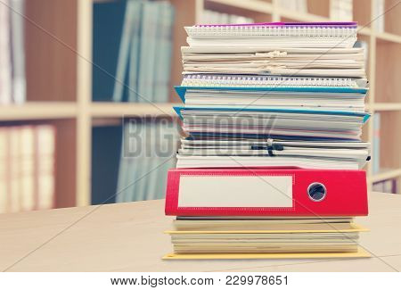 File Documents Folders White Background Paper Business