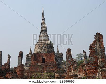 Ayutthaya Hauptstadt Des Königreichs Siam