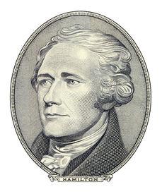 Portrait Of Alexander Hamilton