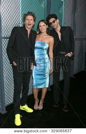 LOS ANGELES - OCT 12:  John Taylor, Atlanta de Cadenet Taylor, Dave Macklovitch at the Tiffany Men's Collection Launch at the Hollywood Athletic Club on October 12, 2019 in Los Angeles, CA