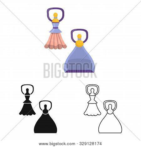 Vector Illustration Of Scraper And Glass Icon. Web Element Of Scraper And Tool Stock Vector Illustra