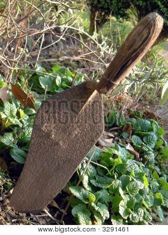 Rusting  Garden Trowel