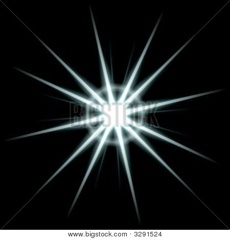 poster of An abstract lens flare. Works great as a background.