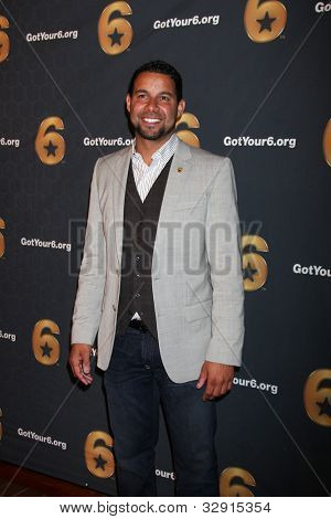 LOS ANGELES - MAY 10:  Jon Huertas arrives at the Launch of
