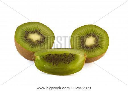 splited kiwi