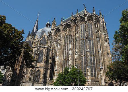 Aachener Dom In Aachen
