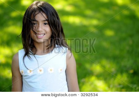Young Girl Child Model