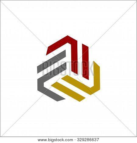 Initials Fff Logo Vector Triple F Logo Vector
