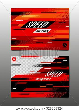 Speed Layout , Template Design, Abstract Background, Dynamic Poster, Brush, Sport Banner, Grunge ,ve