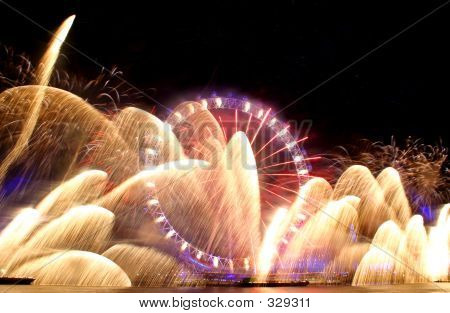 London Eye Firework