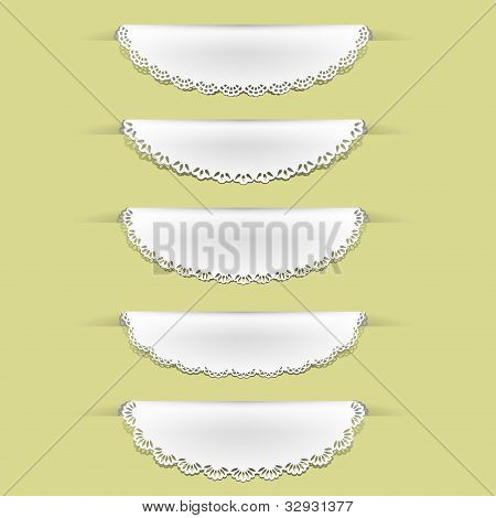 Set of lacy tag labels