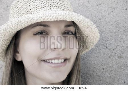 Beauty In A Hat 3