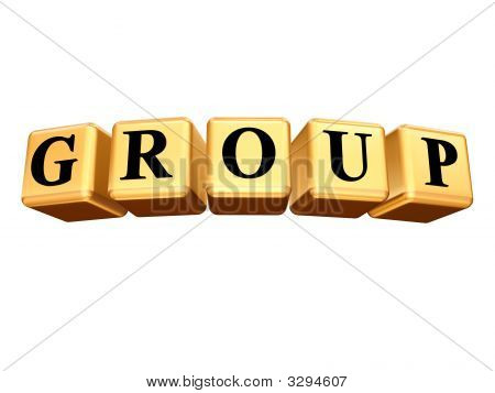 Golden Group Isolated