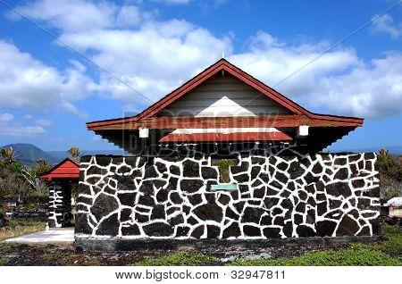 Chapel Made Of Hawaiian Stone