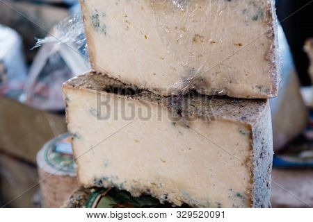 Cabrales Traditional Spanish Artisan Cheese From Asturias